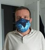 Image intervenant masqué contre COVID19